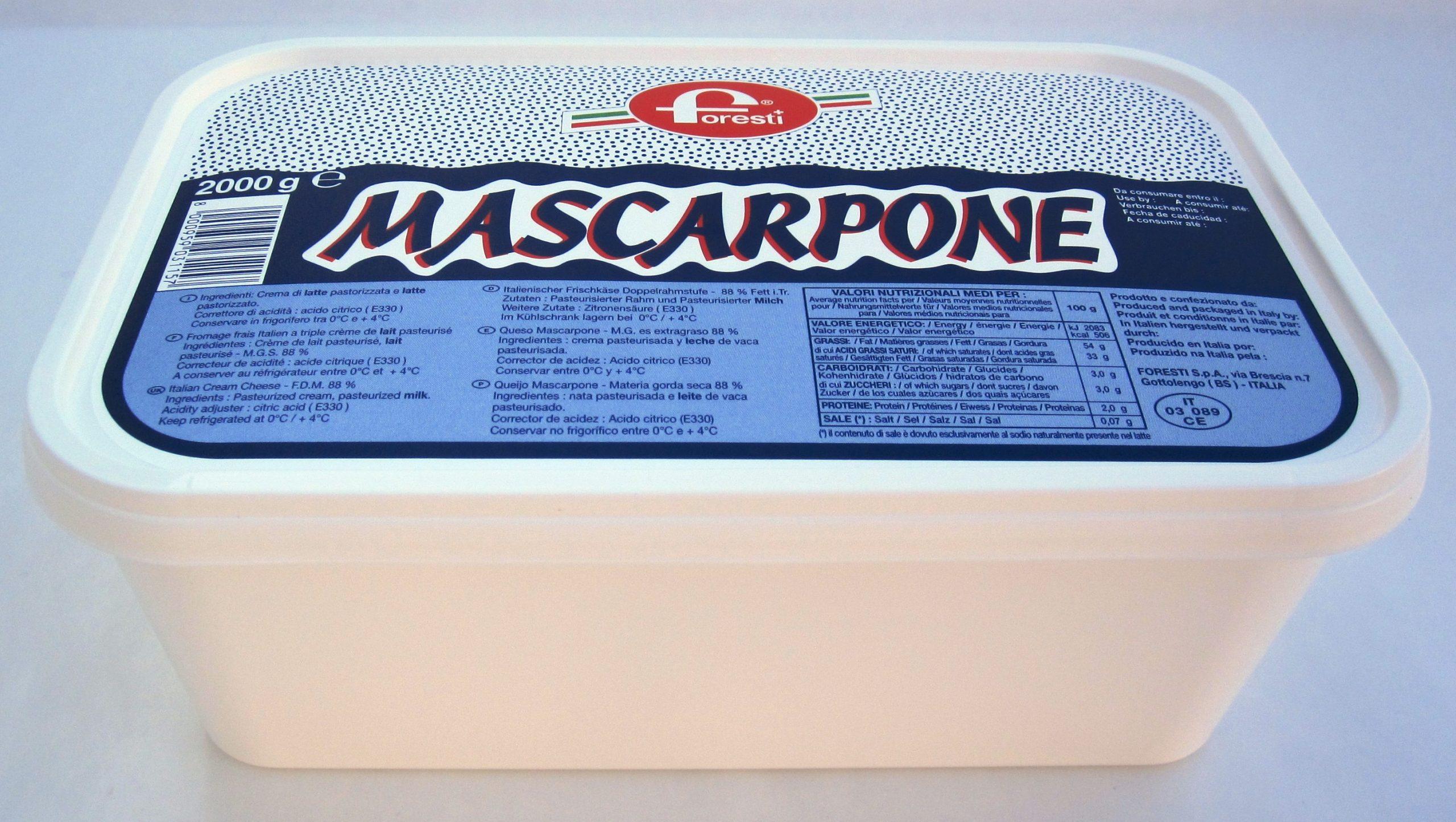 MASCARPONE ITALIEN