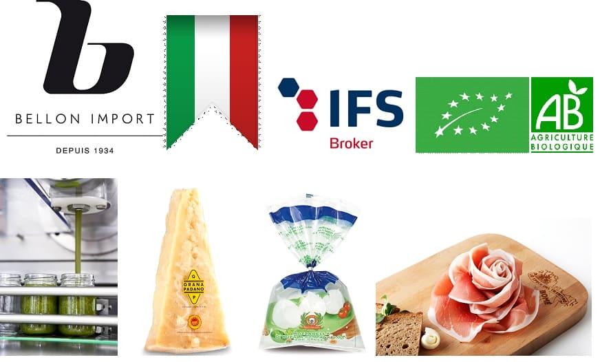distributeurs produits italiens en gros pour professionnels