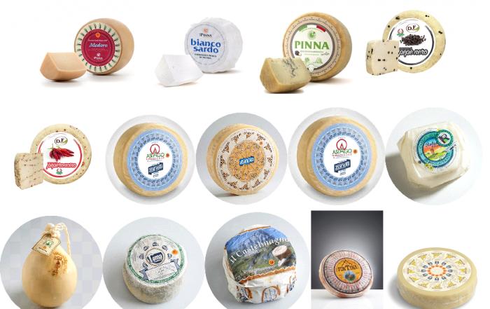 vente de fromages italiens en gros