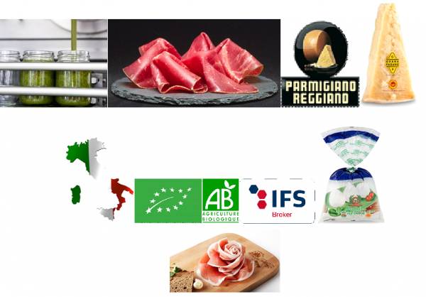 GROSSISTE PRODUITS ALIMENTAIRES ITALIE